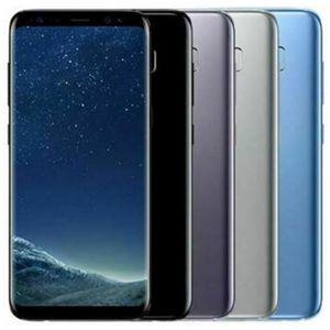 Yenilenmiş Orijinal Samsung Galaxy S8 G950F G950U 5.8 inç Octa Çekirdek 4GB RAM 64GB ROM 12MP 4G LTE Android Cep Telefonu DHL Toptan 10pcs