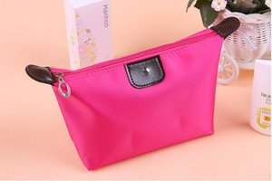 Polychrome Travel Makeup Bags Lady Cosmetic Bag Pouch Clutch Handbag Hanging Jewelry Casual Purse