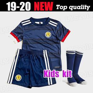 Schottland 2020 2021 Schottland Kinder-Fußballjerseys 2020 Schottland Heimtrikot McGinn 8 Shankland 9 FINDLAY 14 Kinder Kit Fußballhemd