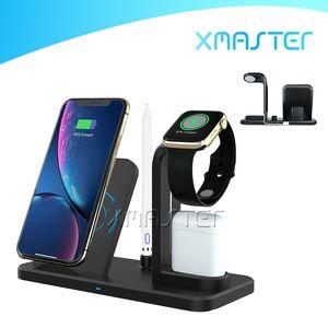 5V 2A del caricatore senza fili Qi stand mobile di ricarica rapida stazione base per iPhone Pro 11 XS XR Samsung S10 S9 AirPods caricatore xmaster