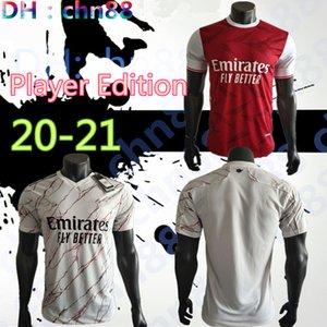 플레이어 판 아르센 축구 유니폼 (20) (21) PEPE NICOLAS 세발 로스 HENRY GUENDOUZI 소 크라 티스 MAITLAND - NILES 티어니 2020 2021 축구 셔츠 남성