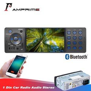 Amprime 1DIN 자동차 라디오 Autoradio 오디오 비디오 MP5의 USB 보조 FM 수신기 블루투스 핸즈프리 4에서 -Dash 자동차 MP3를 멀티미디어 플레이어