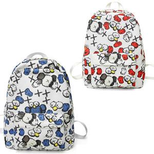 K Marque designer sac à dos pour les filles Casual Nylon School College Book Zipper Avec 2 couleurs Haut de gamme Qualité Designer Sacs Drop Shipping