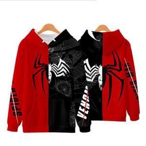 Avengers Son Oyun 3D Baskılı Superhero Spiderman Demir Adam Kapüşonlular Örümcek Adam Venom Örümcek Gwen Kazak Kazak Kıyafet