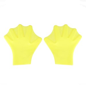 1Pair Finger Fins Gloves Hand Paddle Palm Sports Swimming Accessories Membranes