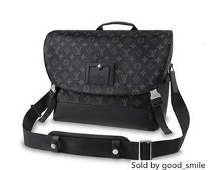 Дизайнер MM VOYAGER M40510 Мужчины MESSENGER сумки плеча ремень сумка Totes Портфель Портфели Duffle багажа