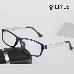 Großhandels-Computer-blauer Laser Fatigue Strahlung abschirmende Brillen Brillen Brillen Rahmen Oculos de grau 2126