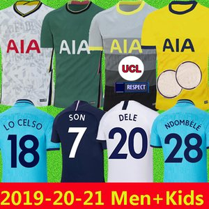 Tottenham hotspur spurs soccer jersey KANE футбол Джерси 2019 2020 LAMELA ERIKSEN DELE SON DIER шпоры трикотажные изделия 19 20 футболка форменная майка де фут далеко треть