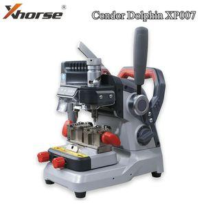 Xhorse Condor DELPHIN XP007 manuell Key Schneidemaschine für Laser, Grübchen und Flachschlüssel