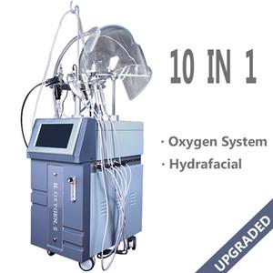 클리닉 사용 스파 페이셜 장비 BIO 초음파 Iontophoresis 양극 Rf 산소 제트기 껍질 얼굴 기계 G882A 하이드로 산소 분사 스프레이