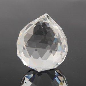Bolas de cristal claras de 30mm Lustre Bola de cristal Prisma Bolas facetadas transparentes