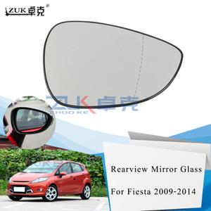 2012 2013 2014 ZUK İyi Car-Şekillendirme Sol Sağ Brank Yeni Dış Cephe Dikiz Aynası Objektif Cam İçin Ford Fiesta 2009 2010 2011
