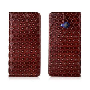 Caja del cuero genuino para HTC u play magnético del caso de la cubierta para HTC u play tirón de HTC cubierta de cuero del caso u play bolsa de teléfono