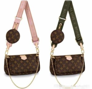2020 designer luxury handbags purses 3pcs set bags crossbody messenger shoulder bags tote clutch shopping bag chain leather bags