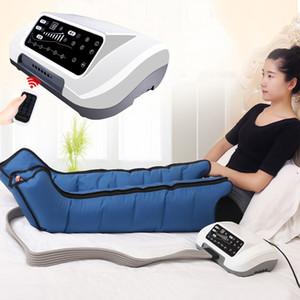 Сжатие воздуха для ног Foot Massager вибрации Infrared Therapy Arm талии Пневматика Обертывания Relax Облегчение болей