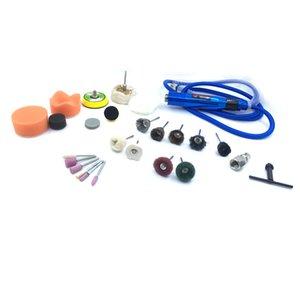 Wilin Pneumatic Tools Máquina de grabado de aire Mini Kit de pluma de molinillo de aire Tipo ajustable de 3 garras con detalles de recolección Encerado