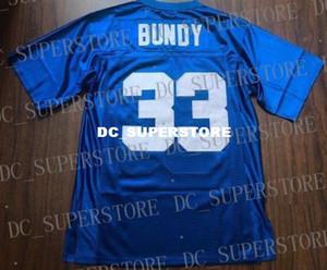 Barato personalizado Al Bundy Polk Escuela secundaria Fútbol Retro Jersey Comedia Programa de televisión Cosido en azul personalizado Cualquier número de nombre Jersey cosido XS-5XL