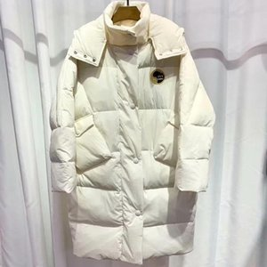 Man and Womens Designer Down Coats Parkas Student Loose Long Winter Down Jacket Godzilla Styles Down Jacket Fashion Hooded Coat Top Quality