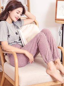 Los pantalones pantalón de alta elasticidad de envío de la buena calidad de las polainas de la mujer de algodón Mianziduo 2019 nuevas mujeres de la moda urbana Y200328
