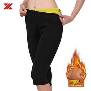 HEXIN Bady Shaper Black Neoprene Fitness Pants Fat Burning Sweat Sauna Slimming Pants For Women Loose Weight Leggings Trainer Y200706
