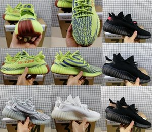 2019 Release 35O V2 Kanye West Nouvelle couleur Chaussures de course hommes femmes Static Clay Sesame True Forme Hyperspace Designer chaussures