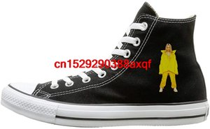 High-top Canvas Shoes Sneaker Billie Bored Eilish Casual Walking Shoes for Mens Womens