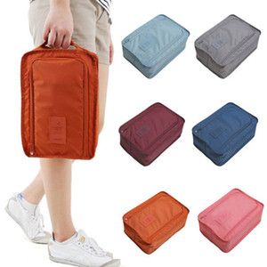 Lasperal Waterproof Shoes Bag Pouch Storage Travel Bag Portable Shoes Organizer Sorting Pouch Zip Lock Home Storage