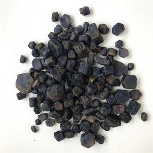 50 g naturel bleu et rouge corindon corindon Facet rugueux spécimen Mnerals Reiki Aquarium Gravier poisson pierre réservoir