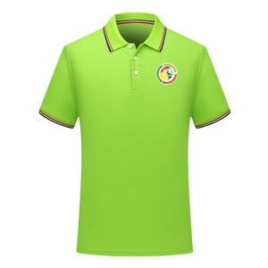 2020 Сенегал национальной сборной рубашки поло трикотажные изделия футбола Футбол Polos 2020 Сенегал национальная команда с коротким рукавом Поло футбол Поло Вентиляторы Tops