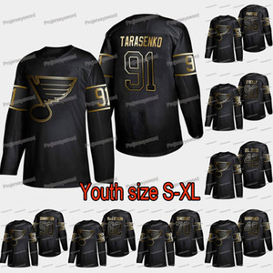 Youth St. Louis Blues Vladimir Tarasenko 2019 Golden Edition Jersey Binnington Colton Parayko David Perron Oskar Sundqvist Ryan O'Reilly