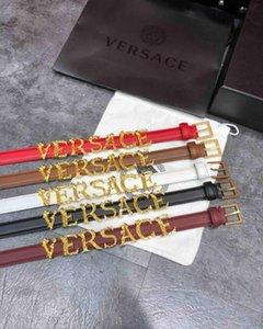 Arbeiten Sie heißen Gestreifte Doppelschnalle Männer Designer f Gürtel europäische Art-Marke waistbands Qualitäts-Echtledergürtel mit Kasten