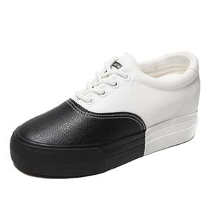 Kama Sneakers Kadınlar Kalın Dip Ayakkabı Lace Up PU Ayakkabı Kadın Sapatos Feminino Plataforma Moda Sneaker Kadın Eğitmenler