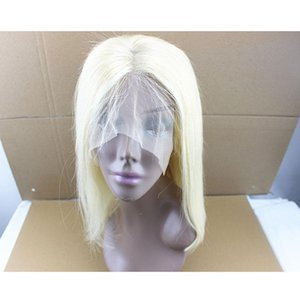 A 613 Straight Human Hair Wigs Blonde Lace Frontal Hair Wig Density 130 %150 %180 %Brazilian 100 %Remy Virgin Hair For Women 8 -24 Inch