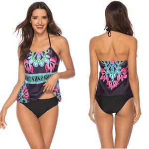 Women Push up Bikini Set String Swimwear Large Size Two Piece Swimsuit Sexy Bathing Suit Backless Tankini Set Bathers Maillot