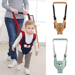Infantile del bambino del bambino Carry Walking cinghia del cablaggio Ala cinghia della camminata Assistant aiuto di sicurezza del cablaggio del bambino cinghia regolabile