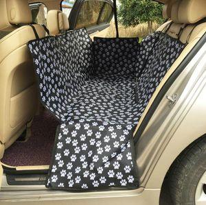 Oxford Kumaş Paw desen Araba Pet Koltuk Su Geçirmez Geri Tezgah Koltuk Seyahat Aksesuarları Araba Koltuğu Kapakları Mat