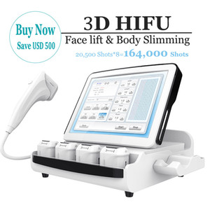 Multifunctional 3D Anti-Wrinkle HIFU Facial Skin Tightening Body Weight Loss Slimming HIFU High Intensity Focused Ultrasound HIFU Equipment