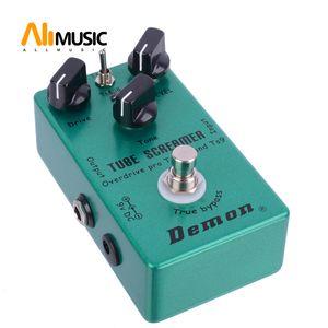 تأثير الغيتار الدواسة سق زيادة شيطان TS808 غيتار كهربائي دواسة شحن مجاني MU0371