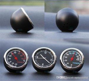 40 milímetros anti-riscos Relógio de carro com Luminous Luz Mini noctilucentes Assista Termômetro Digital Decoração Car Acessórios eletrônico Auto Car S