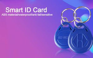 CKS 10 pz EM4305 T5577 Duplicatore Badge Copia 125khz RFID Riscrivi Tag llavero Porta Chave Card Sticker Chiave Fob Token Ring Di Prossimità
