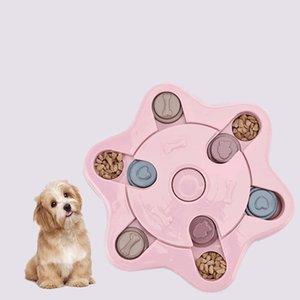 Dog Lento Feeder bacia do alimento Pet Alimentando Slicone verde para interactivo Dog Anti Choke deslizamento Sem Gulp fy4110