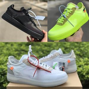 2019 Новые Десять спорта обуви Exact издание Black 1 Low Volt 2,0 Sneaker Мужчины Женщины Обучение OFF Плоских обуви 10X Athletic Skate Shoe