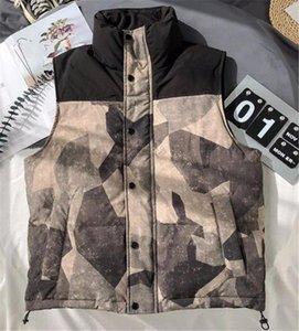 Версия для печати Mens панелями конструктора Жилеты Мода Теплый Толстые Mens Zipper Жилеты вскользь Карманы Щитовые Мужчины Одежда