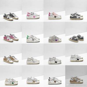 2020 Designer Shoes Golden Women Men Kids Gooses Platform Trainers Basketball Loafers Clog Plate-forme Kanye Running Sneakers Tripler 2018 I