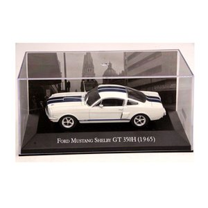 IXO Altaya 1:43 Scale Ford Mustang Shelby GT 350H 1965 Cars Diecast Toys Models Limited Edition Collection White SH190910