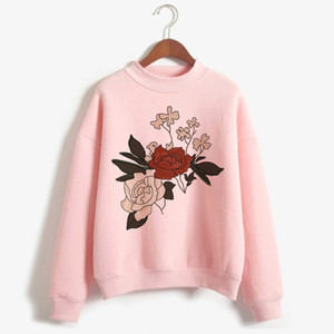 Shawn Mendes camisola do Hoodie Mulheres Flor Imprimir Streetwear Hoodies Moda capuz gráficos capuz Hoody Feminino