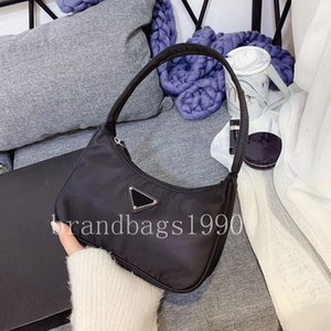 Designer Nylon Hobotasche klassische Schulter-Beutel-Zubehör Stoff PR Mini Tote Höchste Qualität Tote 22cm