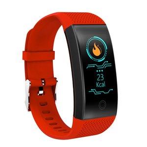 QW18 سوار ذكي الدم الأكسجين ضغط الدم ... ... مراقبةنبضةالنبض ... ... راقبمتعقباللياقةالمياه ... ... ساعة يد ذكية لiphone iOS أندرويد