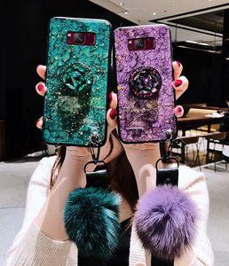 Étui de fixation de diamant pour Samsung Galaxy A8 A9 A6 A6 A7 A5 2018 A6S A8S A10 A20 A30 A40 A70 A90 A40S couvrir le support de bague