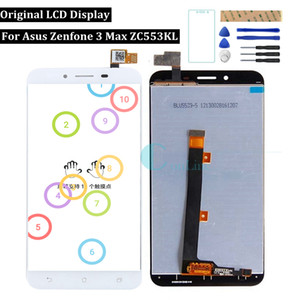 "Originale per Asus Zenfone 3 Max ZC553KL Display LCD Touch Screen 5.5 ""Digitizer Assembly Replacement Repair Ricambi Strumenti"